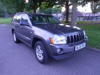 superb 06 jeep grand cherokee larado 3.0crd auto in superb condition low miles faultless drives mint