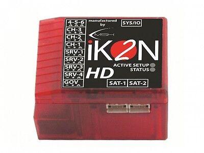 iKON2 HD Paddellos Gyro System W / Polarität Schutz & Schutz Modus IKON2003 Polarität Schutz