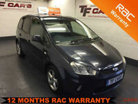 2009 09 reg ford C-MAX 1.8 16v Zetec - ONLY 40'000 Miles!!! FINANCE AVAILABLE!
