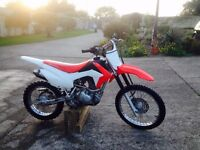 2014 Honda CRF 125F air-cooled four-speed engine