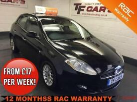 2008 Fiat Bravo 1.4 TJet 120 Dynamic - FINANCE FROM ONLY £17 PER WEEK!