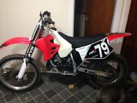 Best on here cr125r super evo