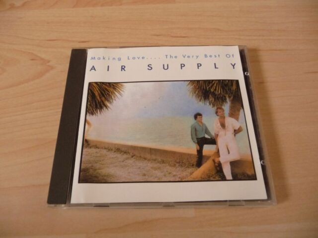 CD Air Supply - Making love ... The Very Best of Air Supply - 12 Songs