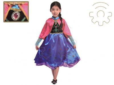 Carnival Costume Frozen Anna for baby girl dress with mantle princess