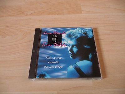 CD Kim Wilde - Love Blonde - The Best of Kim Wilde - 1993 - 19 Songs (Love Blonde The Best Of Kim Wilde)