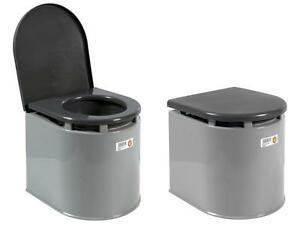 Imperdibile wc chimico vaso bagno portatile con vaschetta giganplast bidet nuovo ebay - Bagno portatile ...