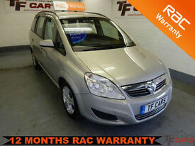 2009 09 reg Vauxhall Zafira 1.6i Exclusive - 7 SEATS!!! FINANCE AVAILABLE
