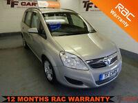 2009 09 reg Vauxhall Zafira 1.6i Exclusive - 7 SEATS!!! FINANCE AVAILABLE