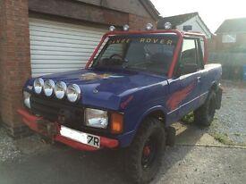 Landrover Range Rover On/Off roader May c0nsider a $w0p for a digger L@@K!