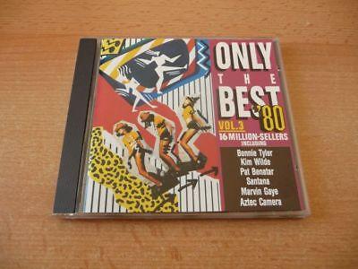 CD Only the Best `80 Vol. 3: Kim WIlde Pat Benatar Aztec Camera Toto Blondie (Best Toto Cameras)