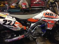 yzf 450 2013 fuel injected low hours