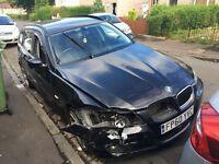 bmw 318d tourer light accident damage 60 plate px/swap