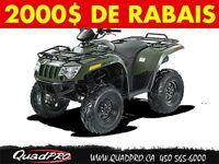 2014 Arctic Cat 500 !! NEUF !! - 2000$ DE RABAIS