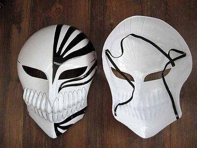 Bleach Ichigo Kurosaki Cosplay Full Hollow Halloween Mask black