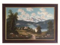 Original Oil Painting titled 'Königssee, Germany' by Artur Franke