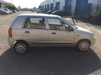 Suzuki alto 1.1 only 7044 miles fsh £30 tax