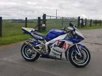 Yamaha R1. The last of the mental carbed bikes!