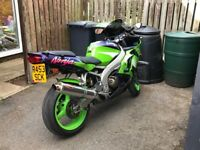 1998 Kawasaki zx6r sale or swap can add cash for the right deal