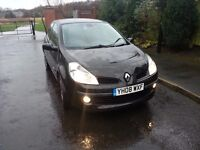 """SWAP DIESEL MPV, VAN OR CAR""RENAULT CLIO DYNAMIQUE S TCE 100 1.2 2008 08 REG FULL SERVICE HISTORY"