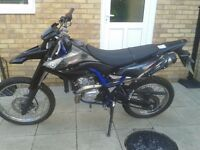 "YAMAHA WR125R 2014 63 PLATE GENUINE 739 MILES FROM NEW ""SWAP CITROEN RELAY LWB OR IVECO DAILY LWB"""