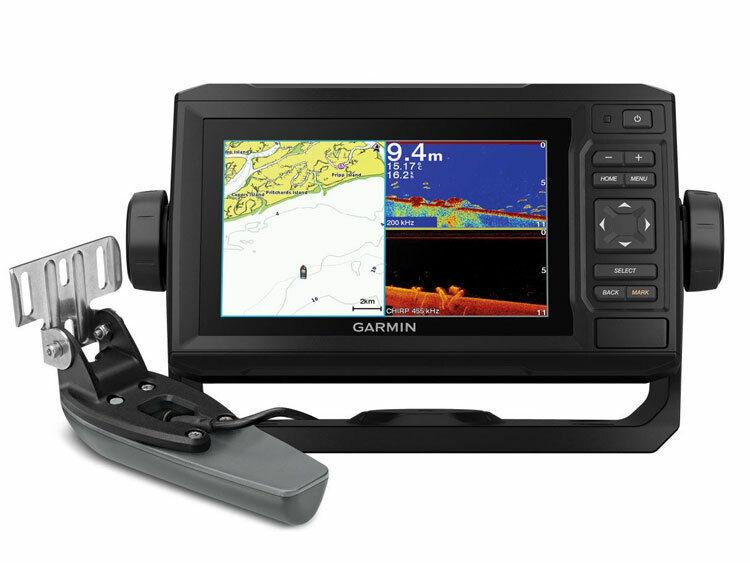 GARMIN Echomap UHD 62cv GPS Mapping Nautical For Boat