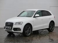 2012 Audi Q5 2012 62 Audi Q5 2.0 TDI S Line Plus Quattro Auto 177BHP Diesel whit