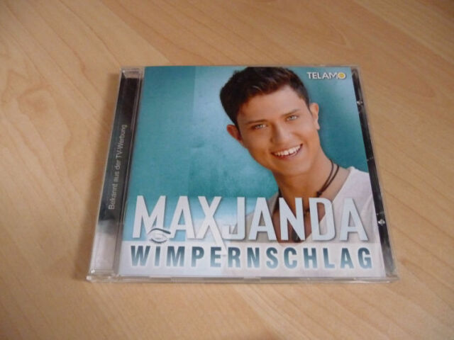 CD Max Janda - Wimpernschlag - 2015 incl. `s Leb`n is wie a Wimpernschlag