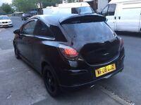 ~ 2008 Vauxhall Corsa SXi 1.4 Black (16v) 3 Door Modified ~ Coilovers ~ SWAP /PX ~