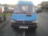 Renault Trafic T1400 D Camper Van ...Phone or Text message only....
