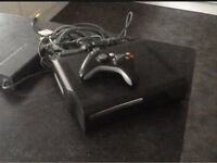 Xbox 360 Elite with games and Kinect