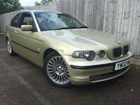 BMW 325 TI Compact SE 3 Door Half Leather 17'' Alloys 192 BHP
