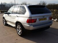 o4 BMW X5 3.0D M SPORT AUTO EVERY EXTRA FROM NEW WIDESCREEN SAT NAV STEREO TV SOLID 4X4 £3750 ono px