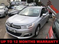 2013 13 reg Citroen C4 1.6HDi VTR+ £20 ROAD TAX FINANCE AVAILABLE