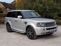RANGE ROVER SPORT SUPER CHARGER V8 P/X WELCOME