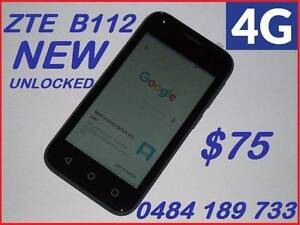 NEW 4G ZTE  BLADE B112 UNLOCKED  4 INCH 5MPX CAMERA $75 Castle Hill The Hills District Preview