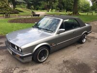 1987 BMW E30 325i CONVERTIBLE WITH HARDTOP MAY CONSIDER PX