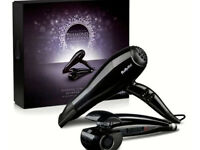 Unwanted gift, BaByliss Diamond Radiance Curl Secret & Hair Dryer Shine Collection Gift Set RRP £179