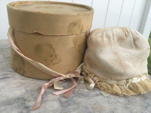 Baby bonnet in original adorable box
