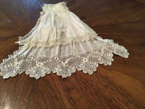 Jabot for your blouse or dress.  Irish crochet trim