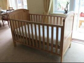 Mothercare Cot bed/junior toddler bed up to 6-7 years