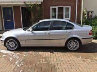 2003 BMW 320d SE 103K mot Sep 2017 leathers MV1s swirl flaps blanked 50mpg