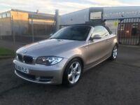 BMW 120d se auto convertible 66k
