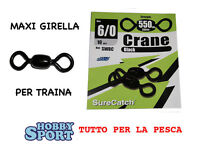 Girella Maxi Crane N 6/0 X Traina 250 Kg 550lb Sure Catch -  - ebay.it