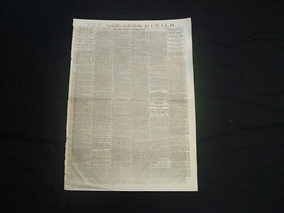THE NEW YORK HERALD NEWSPAPER 1863 CIVIL WAR GRANT'S VICTORY