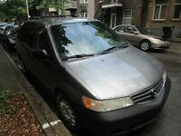 2002 Honda Odyssey tissu Fourgonnette, fourgon