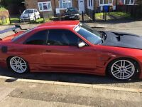 skyline r33 with turbo and manifold and ecu