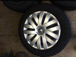 NEW LOWER PRICE. Volkswagen/Audi 205/55/R16 Snow Tires & Rims