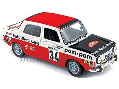 Simca 1000 rallye 2 operation verite consumption 1973 1//43 ixo clc157