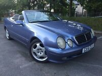 Mercedes CLK 320 Elegance Auto Convertible Only 100k FSH