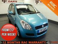 2008 08 Reg Suzuki Splash 1.2 GLS 5 Door - FULL SERVICE HISTORY!